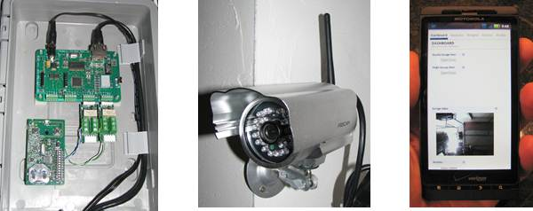 Open And Close Your Garage Door Over The Internet
