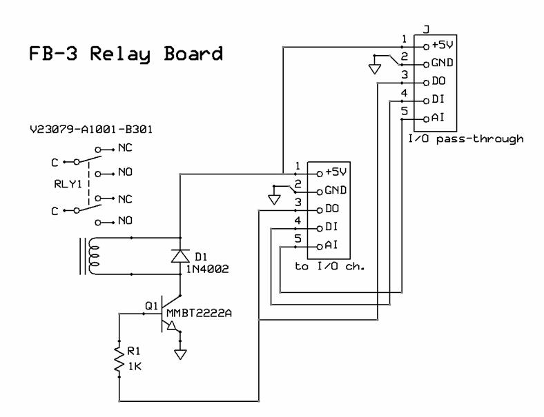 DPDT Relay Board