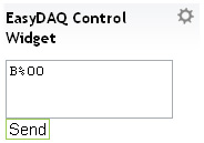 Set EasyDAQ port to Output / Relay Control