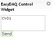 Set Relay State Widget for Easy DAQ relay controllers